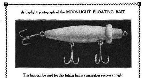 Moonlight Floating Bait Lure Ad