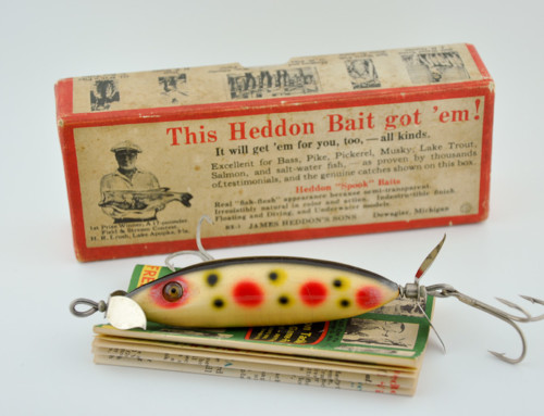 Heddon big mary lure salt water special antique lure for Old fishing lures on ebay