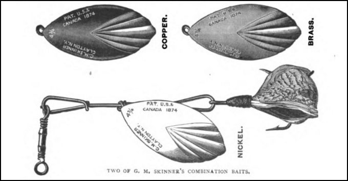 Skinner Gananoque Antique Lure Story